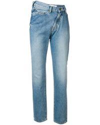 Facetasm - Asymmetric Waist Jeans - Lyst