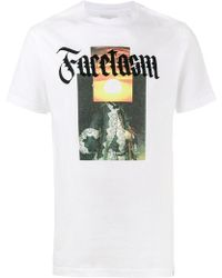Facetasm - Slogan Front T-shirt - Lyst