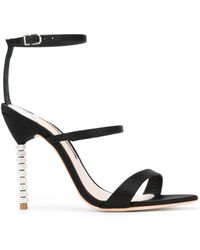 Sophia Webster - Black Rosalind Crystal Embellished Stiletto Heels - Lyst