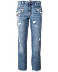 Ermanno Scervino | Jeans Crop | Lyst