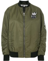 McQ - Swallow Badge Bomber Jacket - Lyst