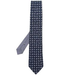 Etro - Paisley Print Tie - Lyst