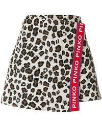 Pinko - Short A-line Skirt - Lyst
