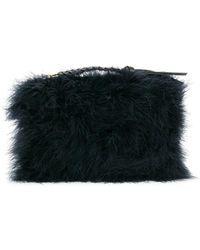 Nina Ricci - Textured Woven Zip Tassel Clutch - Lyst