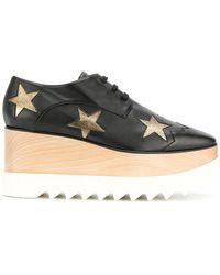 Stella McCartney - Silver Stars Elyse Shoes - Lyst