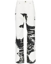 CALVIN KLEIN 205W39NYC - X Andy Warhol Foundation Splash Front Jeans - Lyst