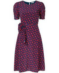 P.A.R.O.S.H. | Lips Print Dress | Lyst