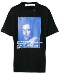 Off-White c/o Virgil Abloh - Camiseta con cuello redondo - Lyst