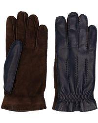 Brunello Cucinelli - Handschuhe mit Ziernähten - Lyst