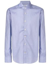 Kiton - Button Down Shirt - Lyst