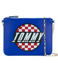 Tommy Hilfiger | Printed Logo Pouch | Lyst