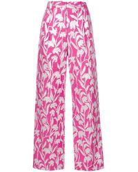 Stine Goya - Carnation Jacquard Trousers - Lyst