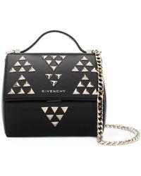 Givenchy - Studded Pandora Box Bag - Lyst