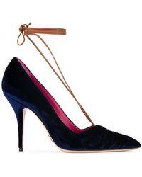 Oscar Tiye - Ilenia Lace-up Court Shoes - Lyst