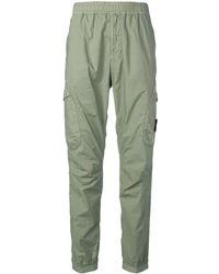 Stone Island - Slim-fit Cargo Trousers - Lyst
