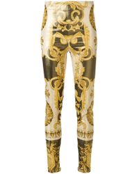 Versace - Baroque Print Trousers - Lyst