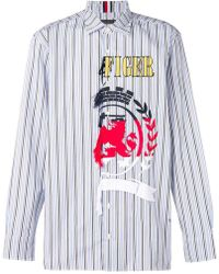 Tommy Hilfiger - Embroidered Shirt - Lyst