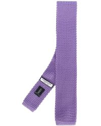 Fashion Clinic - Woven Square-tip Tie - Lyst