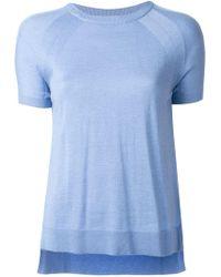 MICHAEL Michael Kors - Knitted T-shirt - Lyst