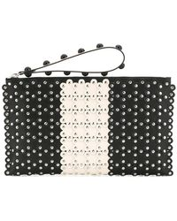 RED Valentino - Studded Clutch - Lyst