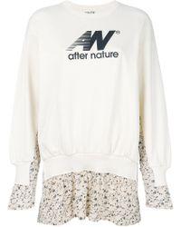 AALTO - Layered Floral Sweatshirt - Lyst