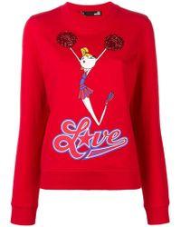 Love Moschino - Cheerleader Doll Jumper - Lyst