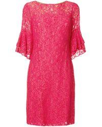 Lauren by Ralph Lauren - Short Lace Dress - Lyst