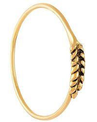 Wheat open bracelet - Metallic Aur jXPCk