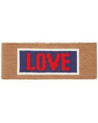 Fendi - Love Slogan Headband - Lyst