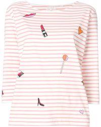 Chinti & Parker - Lolita Breton Stripe Top - Lyst