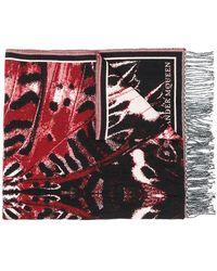 Alexander McQueen - Jacquard Knit Scarf - Lyst