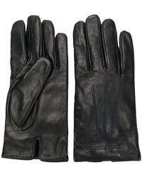 Emporio Armani | Leather Gloves | Lyst