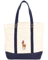 Polo Ralph Lauren - Logoed Shopper Tote - Lyst