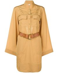 Chloé - Safari Shirt Dress - Lyst