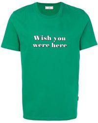 AMI - Camiseta estampada - Lyst