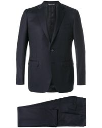 Canali - Slim Single Breasted Suit - Lyst