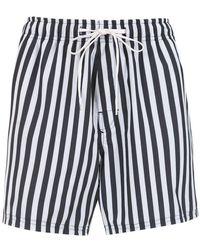 Osklen - Striped Shorts - Lyst