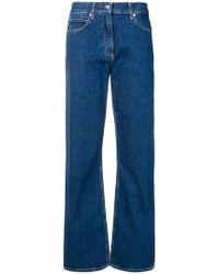 Calvin Klein - Wide Leg Jeans - Lyst