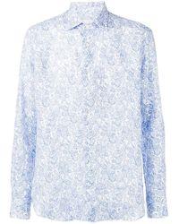 Etro - Paisley Print Shirt - Lyst