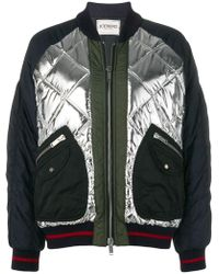 Iceberg - Quilted Bomber Jacket - Lyst