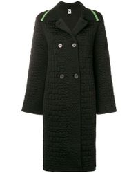 M Missoni - Oversized Double Breasted Coat - Lyst