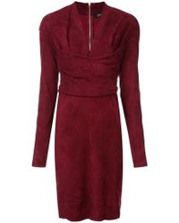 Jitrois - Long-sleeve Fitted Dress - Lyst