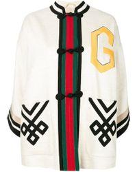 Gucci - Caban-kimono Jacket - Lyst
