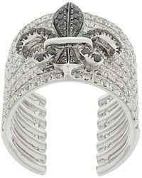 Elise Dray - Crown Embellished Ring - Lyst