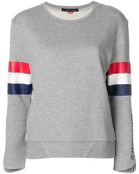 Perfect Moment - Striped Detail Sweatshirt - Lyst