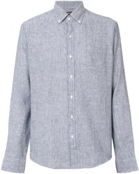 Michael Kors - Striped Print Shirt - Lyst