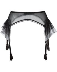 Lascivious - 'kitty' Suspender Belt - Lyst