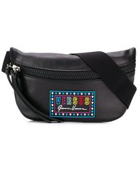 Lyst - Dolce   Gabbana Family Patch Crossbody Bag in Blue 022f7cb5f076b