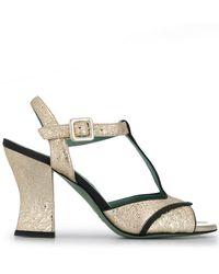 daba305fcf Paola D'arcano - T-bar Sandals - Lyst