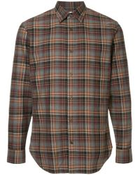 Kent & Curwen - Checked Shirt - Lyst